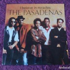 "Discos de vinilo: THE PASADENAS – I BELIEVE IN MIRACLES, VINILO 12"" 1992 HOLLAND 658056 6. Lote 295365683"