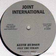 "Discos de vinilo: KEITH HUDSON - FELT THE STRAIN - 12"" [JOINT INTERNATIONAL, 2010] ROOTS REGGAE DUB. Lote 295366338"
