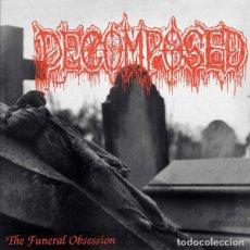 """Discos de vinilo: DECOMPOSED - THE FUNERAL OBSESSION - 12"""" [ME SACO UN OJO RECORDS, 2019] DEATH METAL. Lote 295366978"""