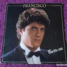 Discos de vinilo: FRANCISCO – CARIÑO MIO ,VINILO LP 1982 SPAIN 23 85 199, DISCO FIRMADO POR EL AUTOR. Lote 295369153