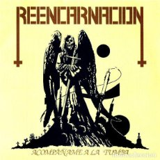 "Discos de vinilo: REENCARNACION - ACOMPAÑAME A LA TUMBA - 7"" [COLOMBIAN METAL MILITIA, 2012 · RED VINYL · LIM. 100]. Lote 295371943"