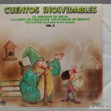 Discos de vinilo: LP. CUENTOS INOLVIDABLES. VOL. 5. Lote 295376358