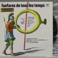 Discos de vinilo: LP. FANFARES DE TOUS LES TEMPS. Lote 295377158