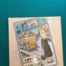 Discos de vinilo: LP CON AUTOGRAFO LINA MORGAN FIRMA ORIGINAL EL ÚLTIMO TRANVIA HISPAVOX 1988. Lote 295381653
