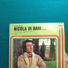 Discos de vinilo: LO MEJOR DE NICOLA DI BARI VOL 2.. Lote 295381988