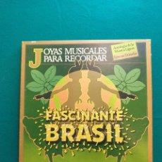 Discos de vinilo: OYAS MUSICALES PARA RECORDAR - FASCINANTE BRASIL CAJA 3 LP´S. Lote 295383328