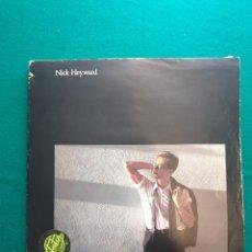 Discos de vinilo: NICK HEYWARD TAKE THAT SITUATION. Lote 295383658
