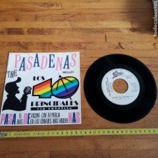 Discos de vinilo: DISCO DE VINILO DE 45RPM DE LOS 40 PRINCIPALES, GLORIA STEFANO, THE PASADENAS. Lote 295395823