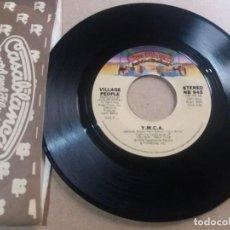 Discos de vinilo: VILLAGE PEOPLE / Y.M.C.A. / SINGLE 7 PULGADAS [MADE IN U.S.A.]. Lote 295396793