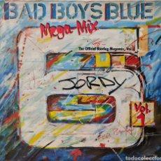 Discos de vinilo: MAXI - BAD BOYS BLUE - MEGA-MIX VOL.1 (THE OFFICIAL BOOTLEG MEGAMIX, VOL.1) - ALEMANIA 1990. Lote 295403708