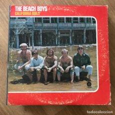 Discos de vinilo: BEACH BOYS - CALIFORNIA GIRLS (1965) - LP CAPITOL USA 1978. Lote 295406003