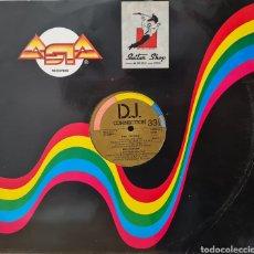 Discos de vinilo: MAXI - VARIOS - 4 TRACKS 12 PULGADAS (PINK PROJECT, DEN HARROW, GAZEBO) - ESPAÑA 1988. Lote 295406313
