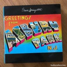 Discos de vinilo: BRUCE SPRINGSTEEN - GREETINGS FROM ASBURY PARK N.J. (1973) - LP CBS 1982. Lote 295407893