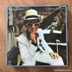 Discos de vinilo: ELTON JOHN - GREATEST HITS (1974) - LP DJM 1977. Lote 295408178