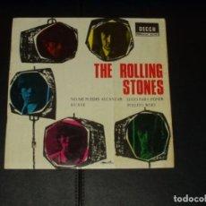 Discos de vinilo: ROLLING STONES EP NO ME PUEDES ALCANZAR+3. Lote 295408253