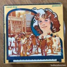Discos de vinilo: CAROLE KING - FANTASY - LP A&M 1973 - CON INSERTO. Lote 295409508