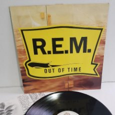 Discos de vinil: REM - OUT OF TIME. Lote 295412543