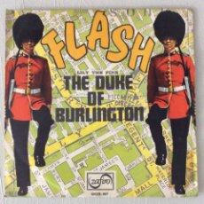 Discos de vinilo: FLASH. LILY THE PINK. THE DUKE OF BURLINGTON. Lote 295415493