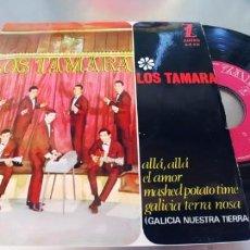 Discos de vinilo: LOS TAMARA-EP ALLA ALLA +3-BUEN ESTADO. Lote 295416923