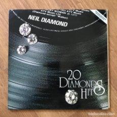 Discos de vinilo: NEIL DIAMOND - 20 DIAMOND HITS - LP MCA 1979. Lote 295417108