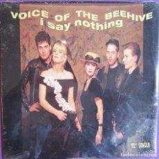Discos de vinilo: VOICE OF THE BEEHIVE: I SAY NOTHING. GRAN GRUPO ANGLO AMERICANO DE POP ROCK / ROCK ALTERNATIVO. Lote 295418528