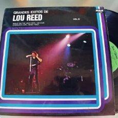 Discos de vinilo: LOU REED-LP GRANDES EXITOS VOL.II. Lote 295418593