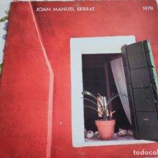 Discos de vinilo: JOAN MANUEL SERRAT – 1978 ARIOLA – 25645-I LP, ALBUM, GAT 1978 , VG+ / VG+. Lote 295418708