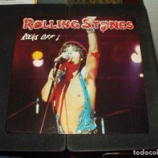 Discos de vinilo: ROLLING STONES LP DOBLE ROCKS OFF. Lote 295421433