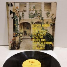 Discos de vinilo: LA CANCIÓN ESPAÑOLA / VARIOS/AS ARTISTAS / LP - VIK-1967 / IMPECABLE. ****/****. Lote 295422693