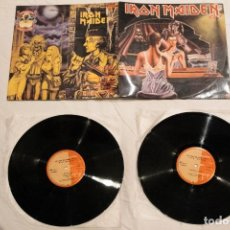 """Discos de vinilo: IRON MAIDEN FIRST 10 YEARS 2, DOBLE 12"""" COLOMBIA. Lote 295425203"""