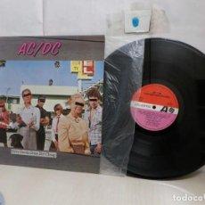 Discos de vinilo: ACDC---DIRTY DEEDS DONE DIRT CHEAP--AÑO 1980-MADRID-HISPAVOX-. Lote 295426468