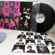 Discos de vinilo: VIVA TEQUILA--MIRA ESA CHICA--AÑO 1980--ZAFIRO--BCN-CON ENCARTES-. Lote 295427643