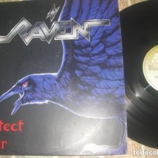 Discos de vinilo: RAVEN ARCHITECT OF FEAR (STEM HAMMER 1991) OG GERMANY. Lote 295431968