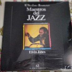 Discos de vinilo: THE ELVIN JONES JAZZ MACHINE – REMEMBRANCE.1989. MPS RECORDS – 424-545-1.NUEVO. MINT / MINT.. Lote 295433288