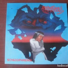 Discos de vinilo: LP SEPULTURA SCHRIZOPHENIA NUEVO THRASH BRASILEÑO. Lote 295433548