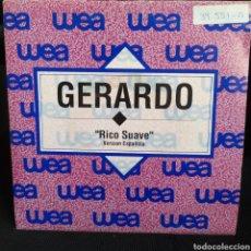 Discos de vinilo: GERARDO - RICO SUAVE 1990. Lote 295438768