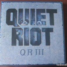 Discos de vinilo: LP QUIET RIOT QR III NUEVO. Lote 295443913