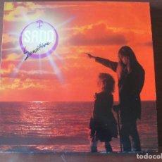 Discos de vinilo: LP S.A.D.O. SENSITIVE NUEVO HARD ROCK GERMANY. Lote 295446283