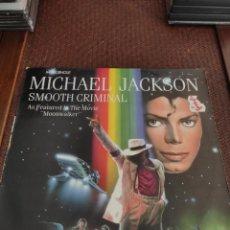 Discos de vinilo: MICHAEL JACKSON SMOOTH CRIMINAL. Lote 295446563