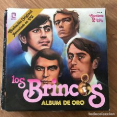 Discos de vinilo: BRINCOS - ÁLBUM DE ORO - LP DOBLE ZAFIRO 1981. Lote 295455123