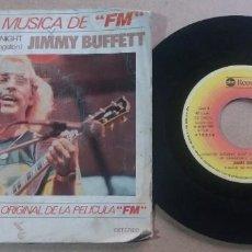 Discos de vinilo: JIMMY BUFFETT / LIVINGSTON SATURDAY NIGHT / SINGLE 7 PULGADAS. Lote 295471293