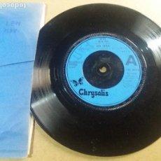 Discos de vinilo: LEO SAYER / WHEN I NEED YOU / SINGLE 7 PULGADAS. Lote 295471638