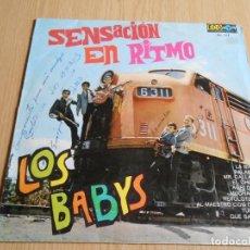 Discos de vinilo: BABYS, LOS, - SENSACION EN RITMO - ,LP, LA BIKINA + 9, AÑO 1968 IMPRESO EN MEXICO. Lote 295475333