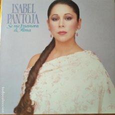 Discos de vinilo: ISABEL PANTOJA - SE ME ENAMORA EL ALAMA -LP. Lote 295478933