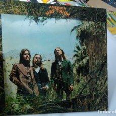 Discos de vinilo: AMERICA : HAT TRICK [ESP 1974] LP HISPAVOX 1974. Lote 295480398