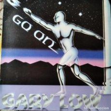 Discos de vinilo: GARY LOW - GO ON - LP 1983. Lote 295480788