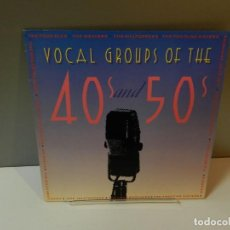 Discos de vinilo: DISCO VINILO LP. LOS HERMANOS MILLS, LOS CUATRO ASES – GRUPOS VOCALES DE LOS AÑOS 40 Y 50. 33 RPM. Lote 295483038