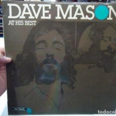 Discos de vinilo: DAVE MASON - AT HIS BEST EDITADO EN 1975 POR HISPAVOX LP EN BUEN ESTADO. Lote 295483088