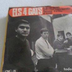 Discos de vinilo: ELS 4 GATS - TENIM UN TEMPS + 3 EP 1965. Lote 295483448