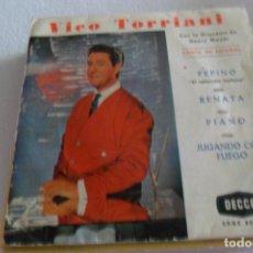 Discos de vinilo: VICO TORRIANI PEPINO + 3 EP. Lote 295483728